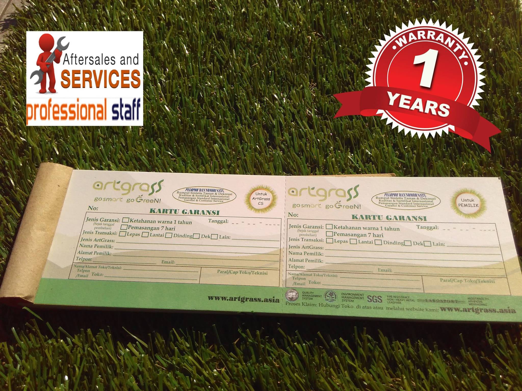 Rumput-Sintetis-ArtGrass-dengan-Kartu-Garansi-After-Sales-Service