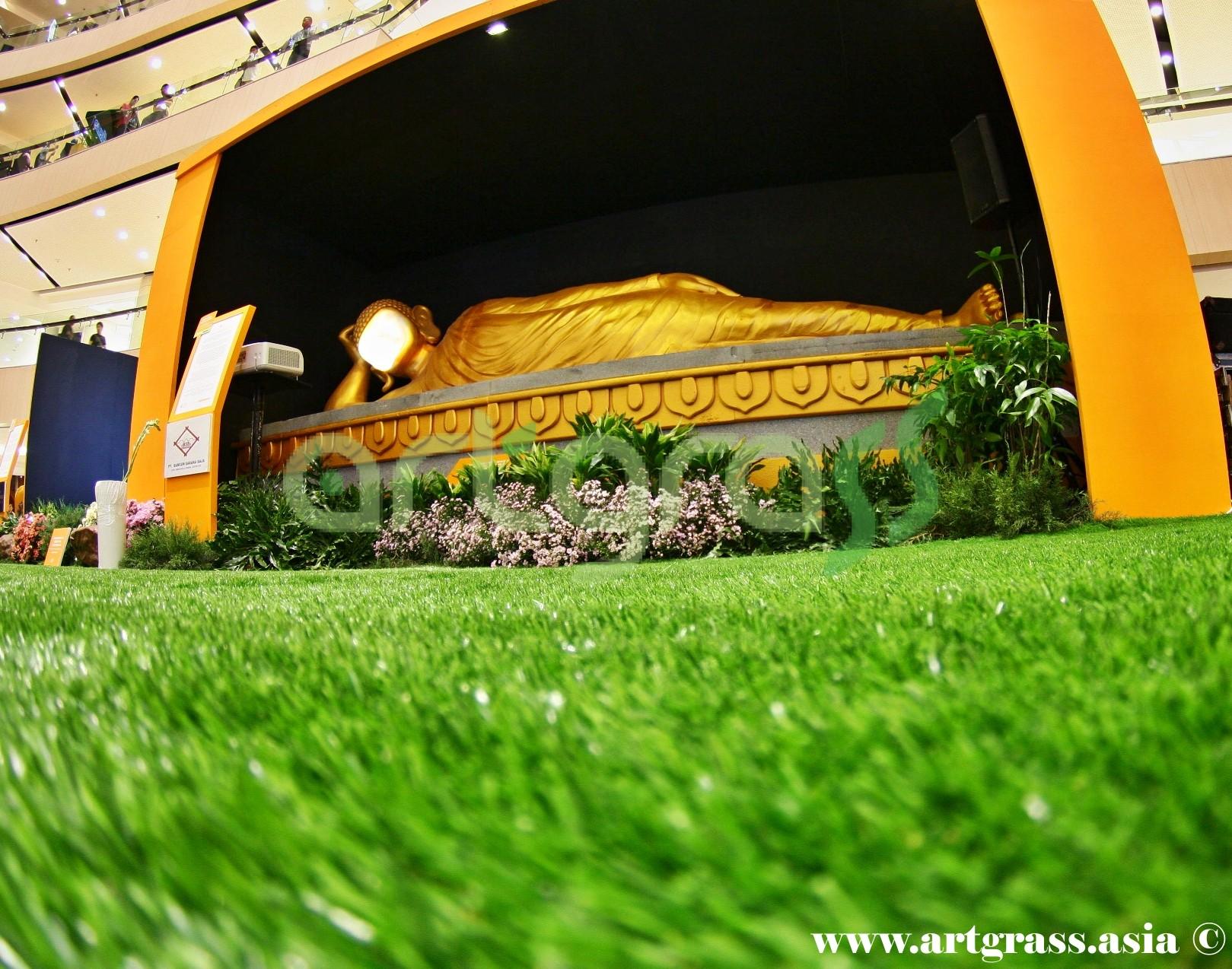 ArtGrass-At-Vesak-Festival-2015-Main-Atrium-Tunjungan-Plaza-28Mei-2015-Sleeping-Buddha