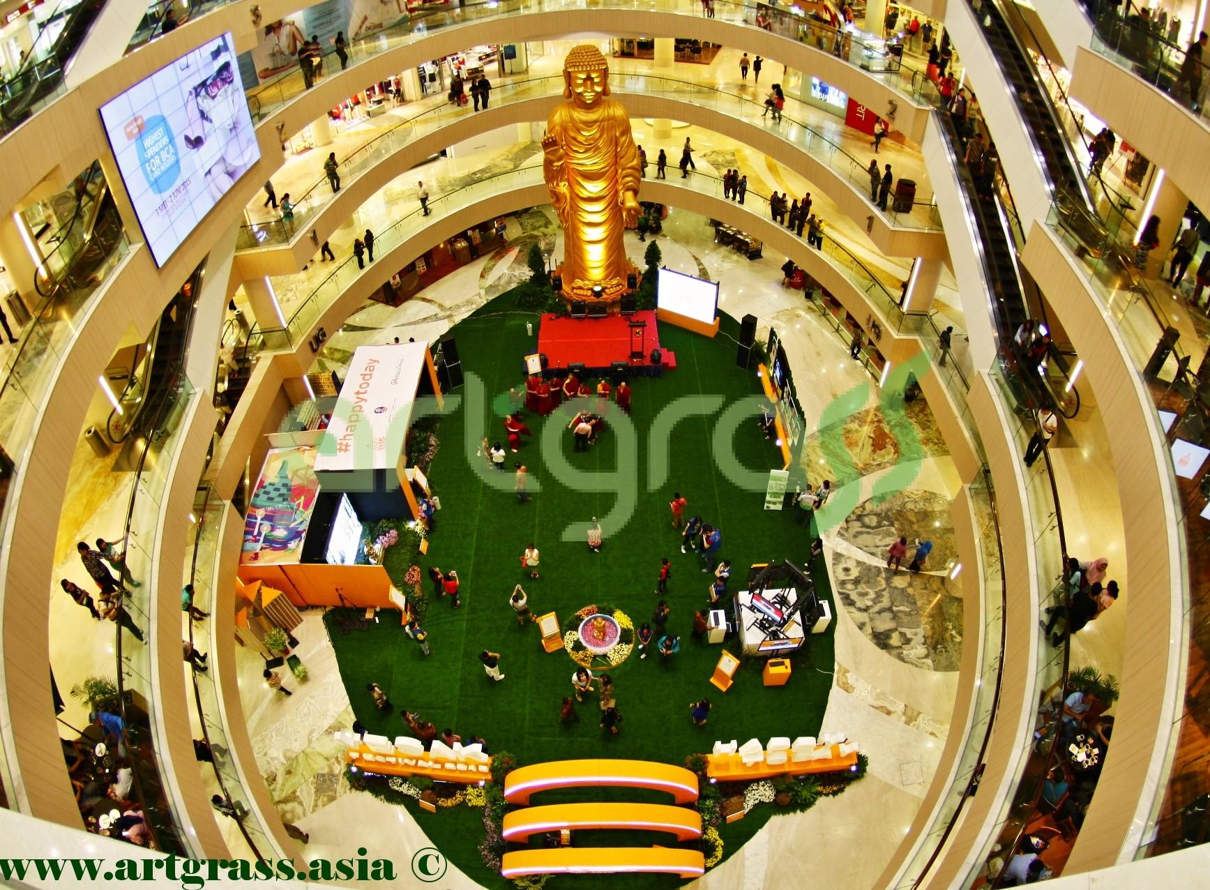 ArtGrass-At-Vesak-Festival-2015-Main-Atrium-Tunjungan-Plaza-28Mei-2015