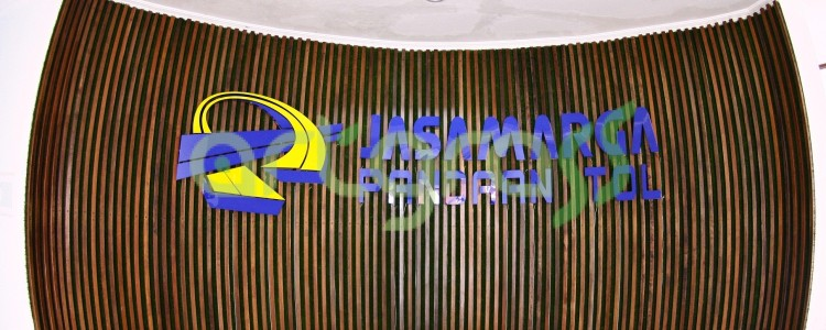 ArtGrass chosen as wall decoration at Jasa Marga Pandaan Tol