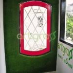 Artgrass-Dinding-Dekorasi-Restoran-Rumput-Sintetis