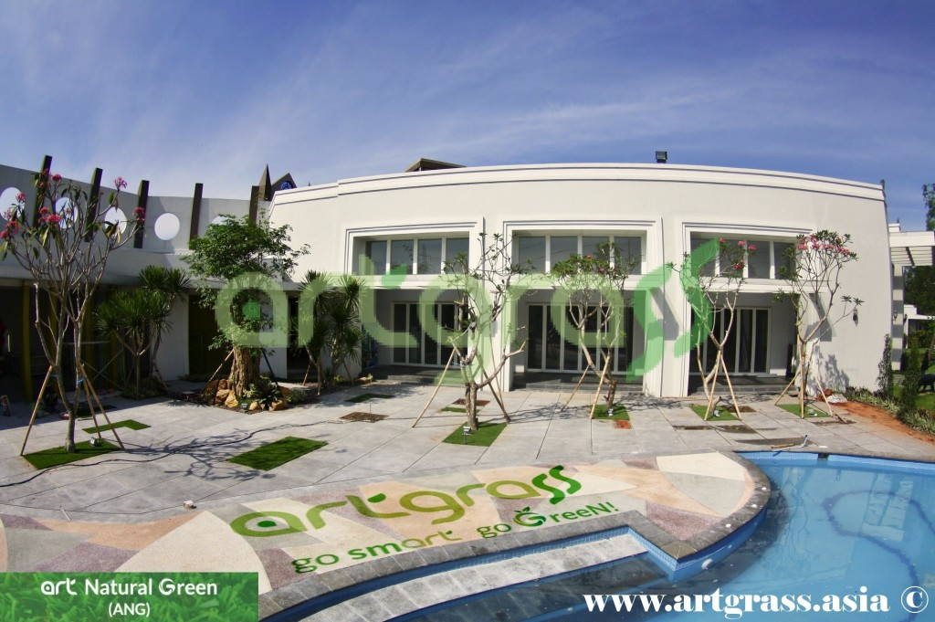 Artgrass-Notredame-Adventure-Park-PoolSide-Rumput-Sintetis