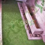 Artgrass-Taman-Belakang-Kering-Rumput-Sintetis
