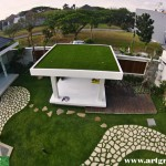 Rumput-Sintetis-ArtGrass-RoofTop-Greenifier-Hijau-Center-View