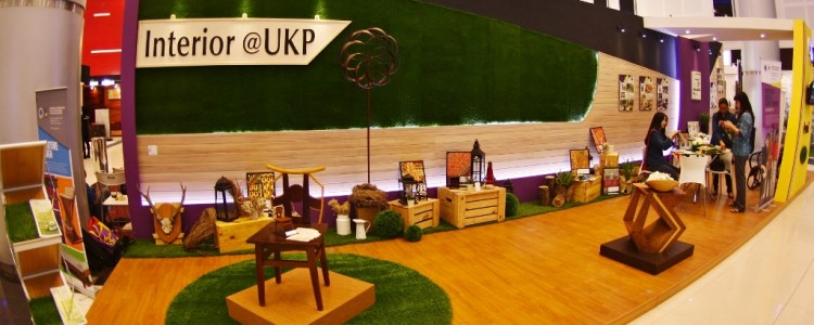 ArtGrass with Interior@UKP at Decorintex Surabaya, Agustus 2015
