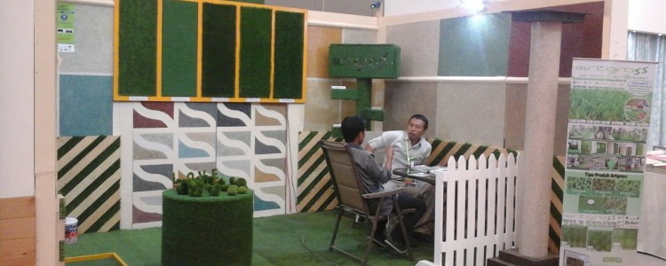 ArtGrass at HomeDec Jakarta in ICE BSD City – 1-4 Oktober 2015