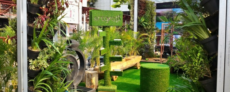 ArtGrass at Trade Expo Indonesia – JI Expo Kemayoran Jakarta – 21-25 Okt 2015