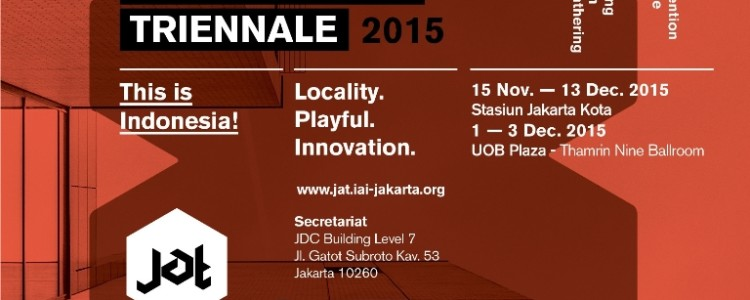 ArtGrass proud sponsor of Jakarta Architecture Triennale 2015 – 15 Nov – 13 Des 2015