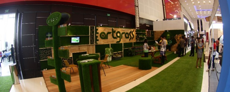 ArtGrass at IndoBuildTech Surabaya 2016