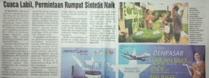 ArtGrass Radar Surabaya koran lokal