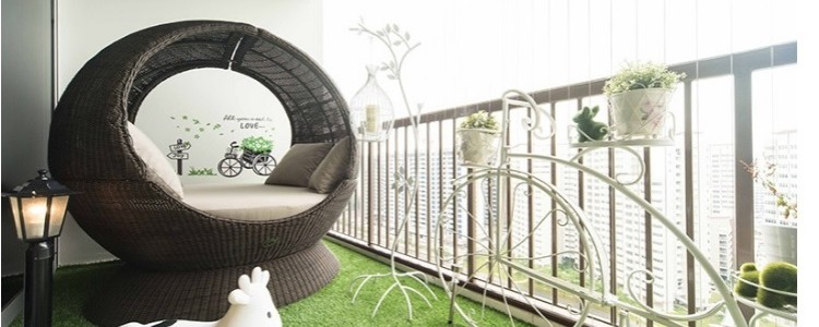Here's how to decorate your balcony – Article Source: rumah.com