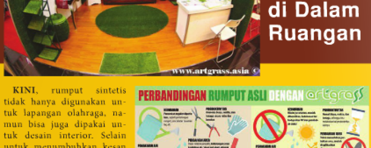 ArtGrass on IklanPos October 2016 Edition