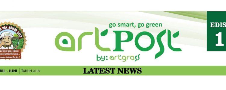 ArtPost Edisi 1 Periode April – Juni 2018