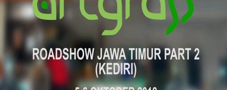 RoadShow ArtGrass – Jawa Timur Part 2 – 5 – 6 Oktober 2018