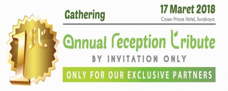 ArtGrass First Annual Reception Tribute 17 Maret 2018