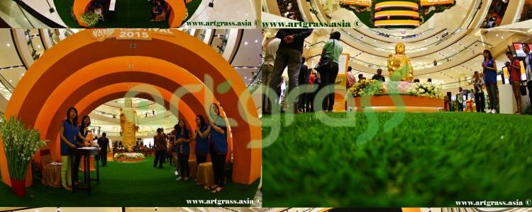 ArtGrass at Vesak Festival 2015 – Main Atrium Tunjungan Plaza 3 Surabaya