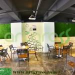 Artgrass-Dinding-Cafe-Indoor-Rumput-Sintetis