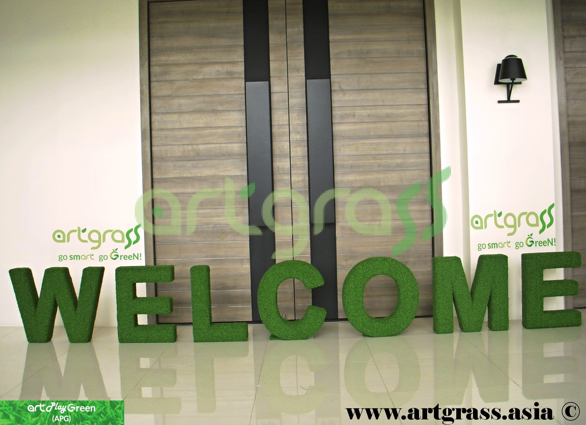 Welcome By ArtGrass