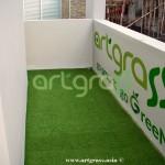Artgrass-Lantai 2 Dek-Samping-Rumput-Sintetis