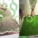 Before-After-Artgrass-Taman-Belakang-Rumput-Sintetis