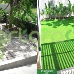 Before-After-Artgrass-Taman-Depan-Paving-Rumput-Sintetis