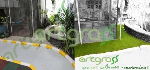 Before-After-Artgrass-Taman-Samping-PreSchool-Rumput-Sintetis