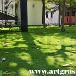Rumput-Sintetis-ArtGrass-ArtMiniGreen-Taman-Luas