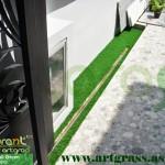 Rumput-Sintetis-ArtGrass-Pintu-Pagar-Rumah
