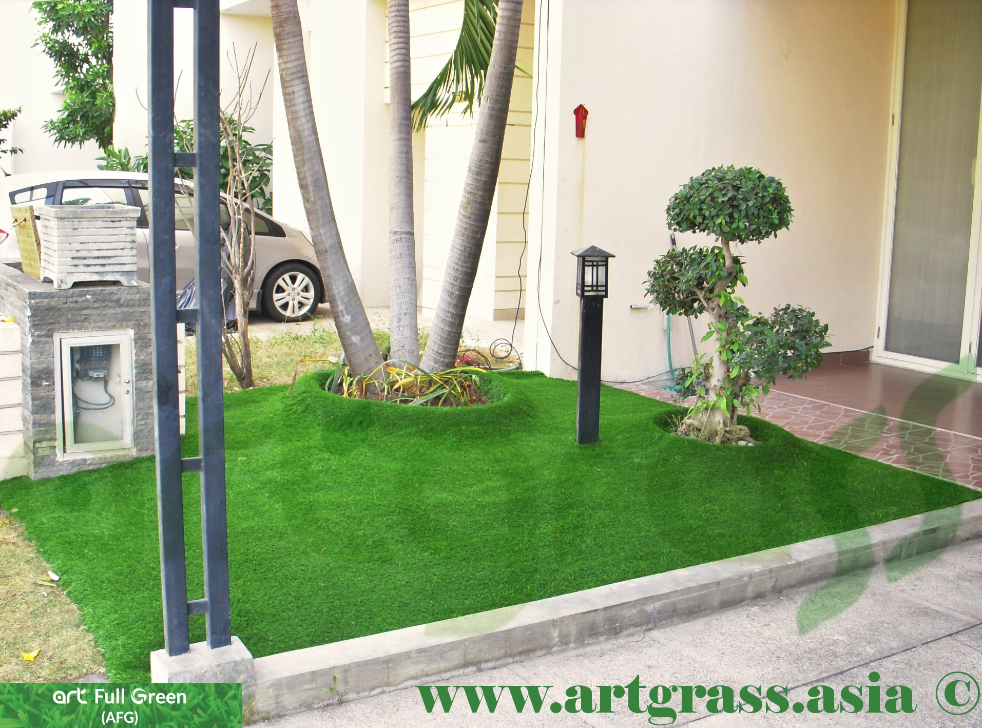 Artgrass Rumput Sintetis Taman Rumput Sintetis Taman