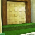 Rumput-Sintetis-ArtGrass-Tangga-Dekor-Dalam-Rumah