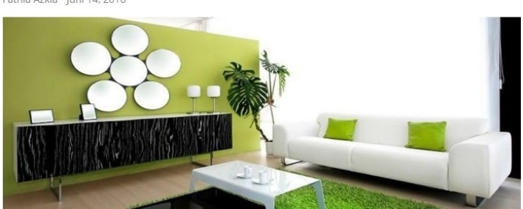 Hijaukan Rumah dengan Dekorasi Rumput Sintetis – Sumber: Rumah.com