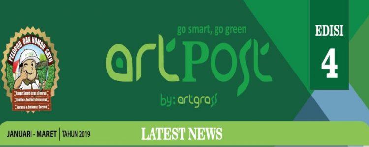 ArtPost Edisi 4 Periode Januari – Maret 2019