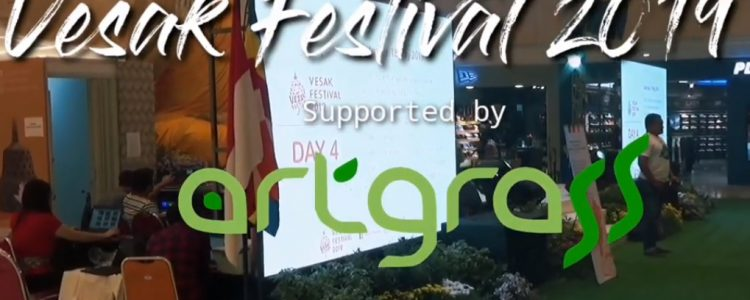 Vesak Festival 2019 Supported by ArtGrass